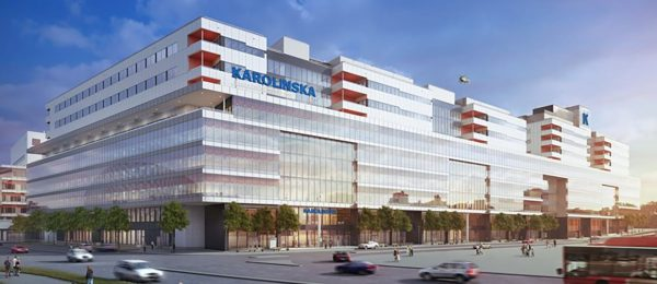 Design Study of New Karolinska Hospital in Sweden