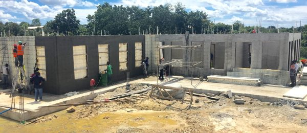 Courthouse Construction using Moladi formwork